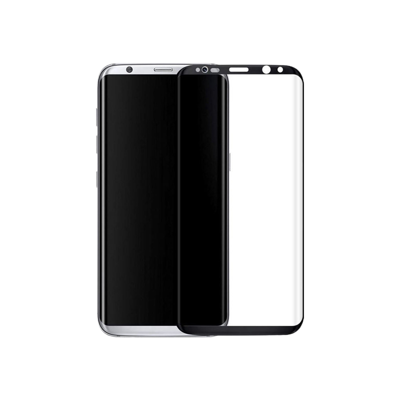 Προστασία οθόνης Full Face Tempered Glass 9H για Samsung Galaxy S8 Plus Μαύρο
