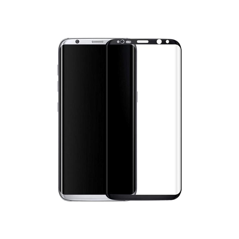 Προστασία οθόνης Full Face Tempered Glass 9H για Samsung Galaxy S8 Μαύρο