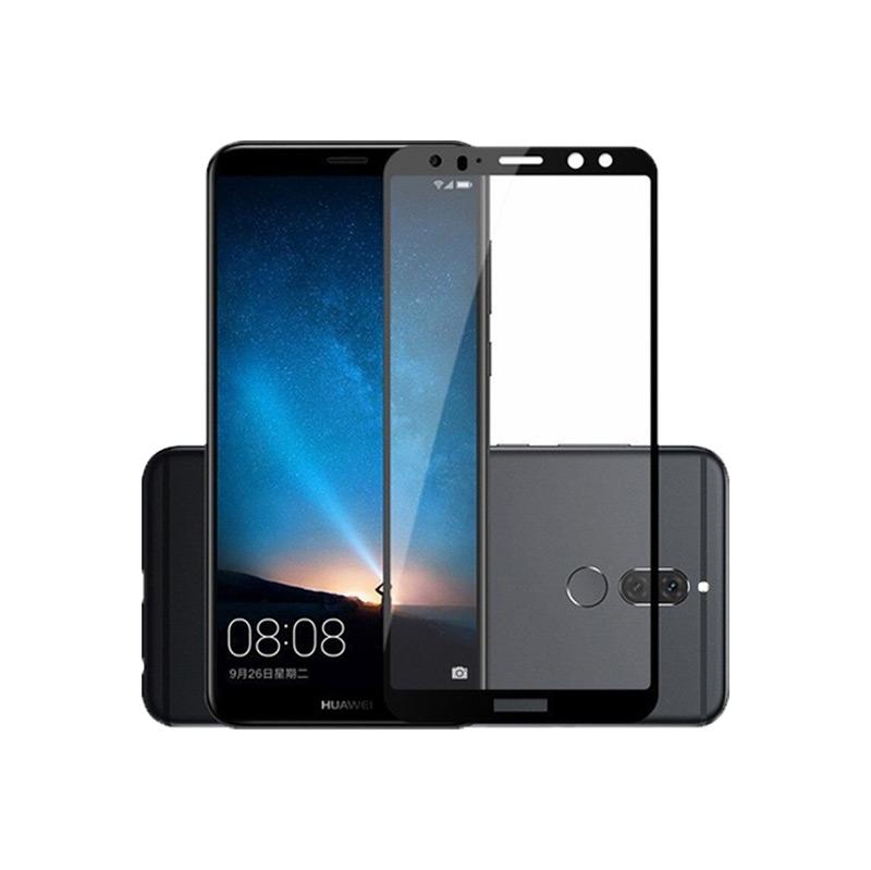 Προστασία οθόνης Full Face Tempered Glass 9H για Huawei Mate 10 Lite Μαύρο