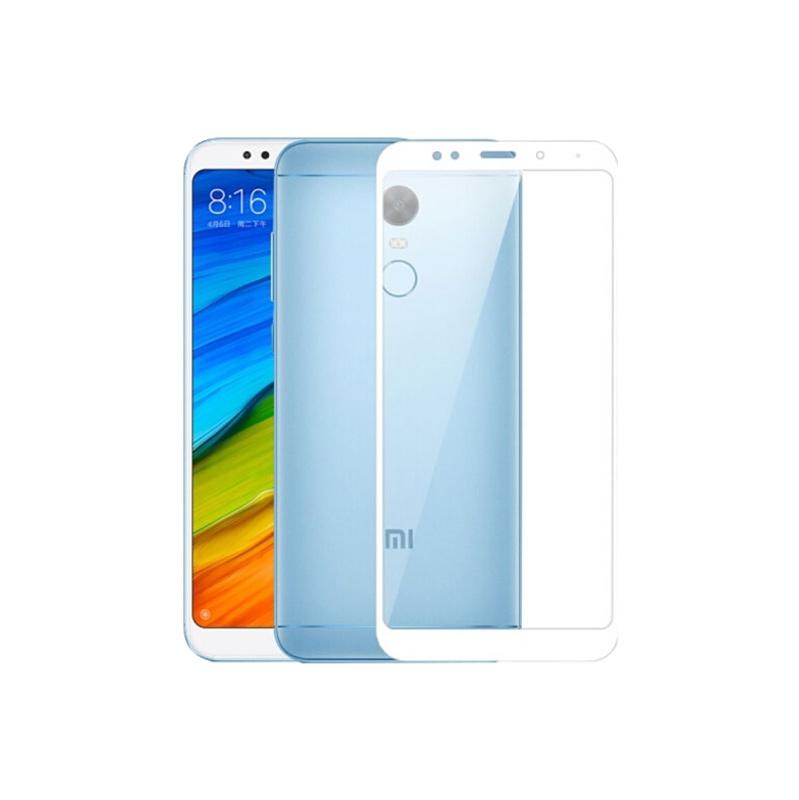Προστασία οθόνης Full Face Tempered Glass 9H για Xiaomi Redmi 5 Plus Άσπρο