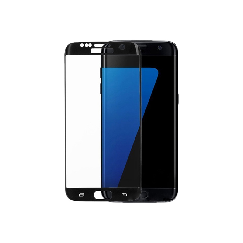 Προστασία οθόνης Full Face Tempered Glass 9H για Samsung Galaxy S7 Edge Μαύρο