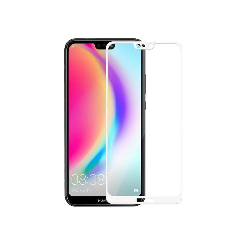 Προστασία οθόνης Full Face Tempered Glass 9H για Huawei P20 Lite Άσπρο