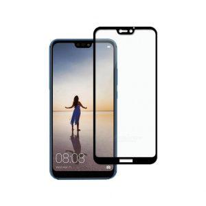 Προστασία οθόνης Full Face Tempered Glass 9H για Huawei P20 Lite Μαύρο