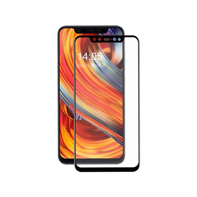 Προστασία οθόνης Full Face Tempered Glass 9H για Xiaomi Mi 8 Μαύρο