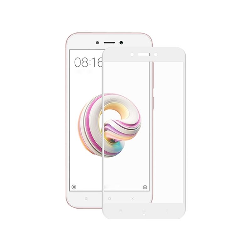 Προστασία οθόνης Full Face Tempered Glass 9H για Xiaomi Redmi 5A Άσπρο