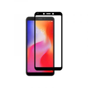 Προστασία οθόνης Full Face Tempered Glass 9H για Xiaomi Redmi 6 Μαύρο