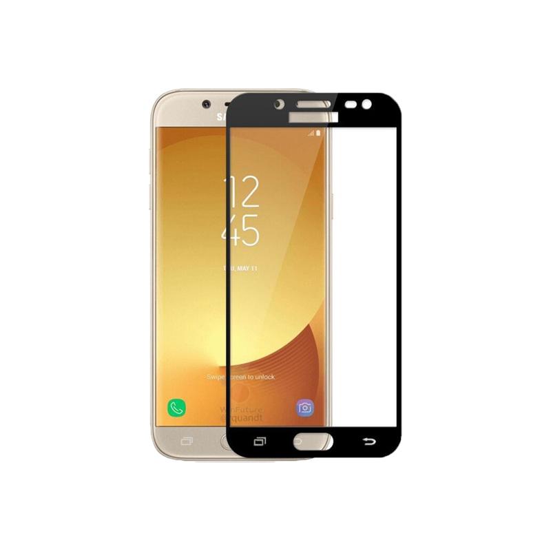 Προστασία οθόνης Full Face Tempered Glass 9H για Samsung Galaxy J3 2017 Μαύρο