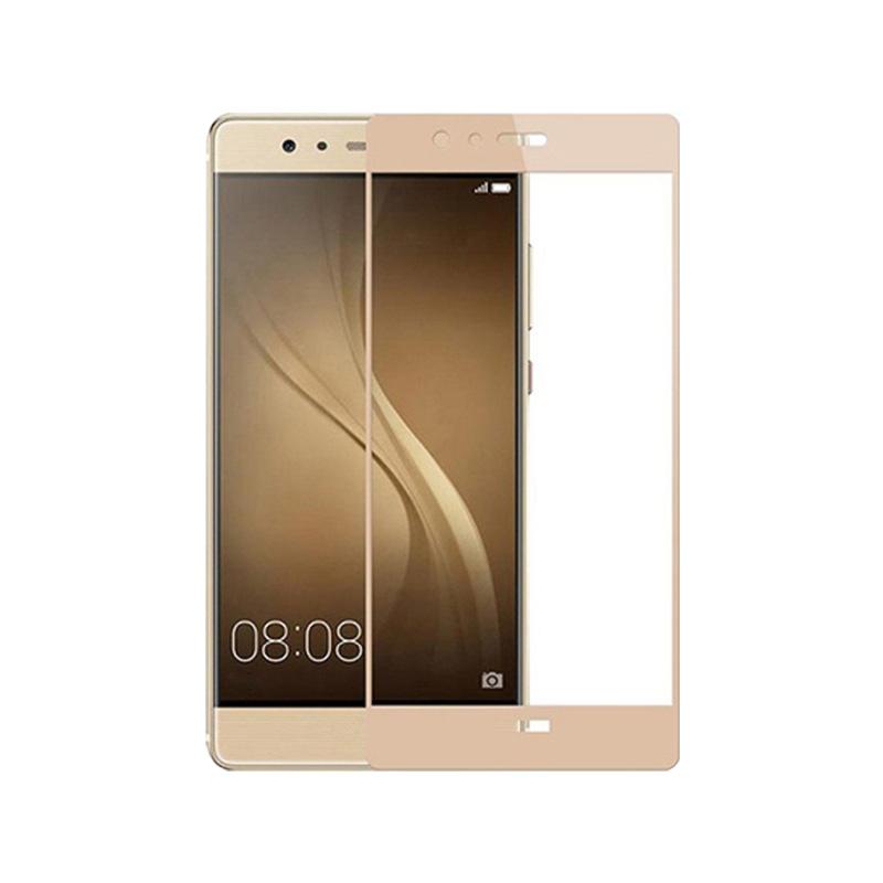 Προστασία οθόνης Full Face Tempered Glass 9H για Huawei P9 Lite Χρυσό