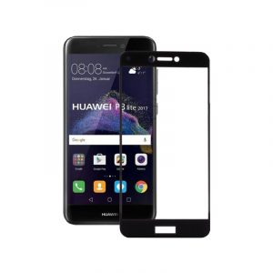 Προστασία οθόνης Full Face Tempered Glass 9H για Huawei P8 Lite 2017 / P9 Lite 2017 Μαύρο