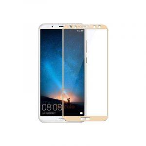 Προστασία οθόνης Full Face Tempered Glass 9H για Huawei Mate 10 Lite Χρυσό