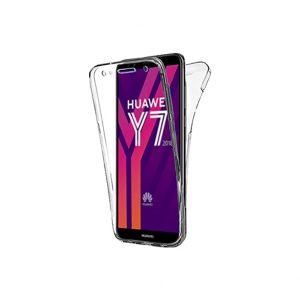 Θήκη 360 Full Cover Σιλικόνης Διάφανο Huawei Y7 2018 / Y7 Prime 2018 / Honor 7C