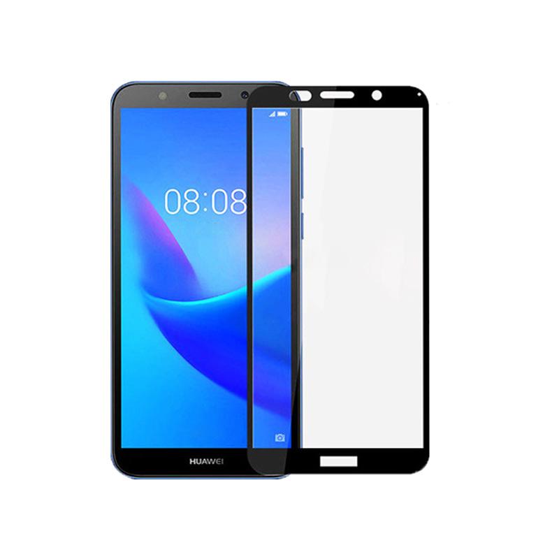 Προστασία οθόνης Full Face Tempered Glass 9H για Huawei Y5 2018 Μαύρο