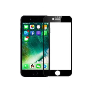 Προστασία οθόνης Full Face Tempered Glass 9H για iPhone 7 Plus / 8 Plus Μαύρο