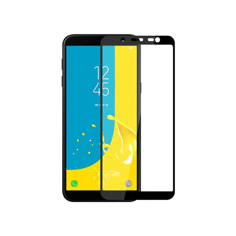 Προστασία οθόνης Full Face Tempered Glass 9H για Samsung Galaxy J6 Μαύρο