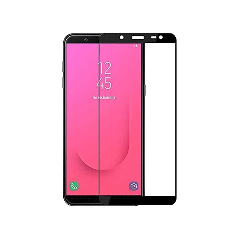 Προστασία οθόνης Full Face Tempered Glass 9H για Samsung Galaxy A6 Plus / J8 2018 Μαύρο
