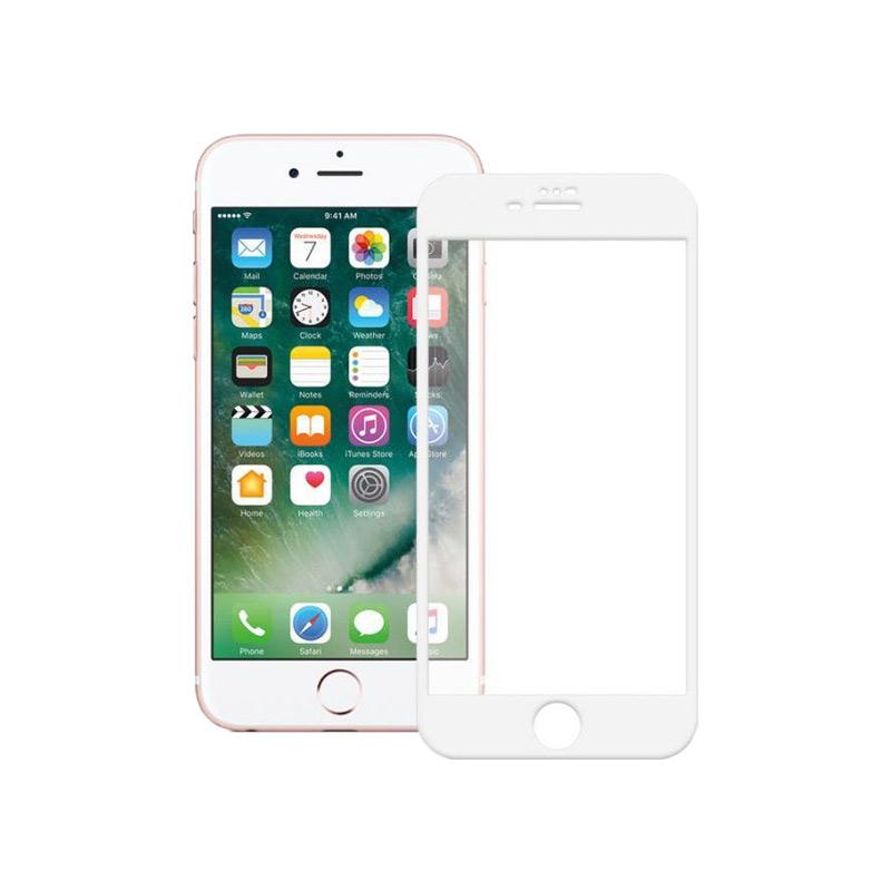 Προστασία οθόνης Full Face Tempered Glass 9H για iPhone 7 Plus / 8 Plus Άσπρο