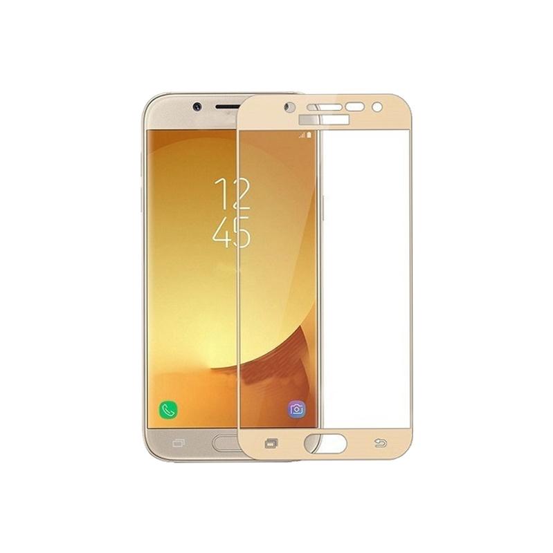 Προστασία οθόνης Full Face Tempered Glass 9H για Samsung Galaxy J5 2017 Χρυσό