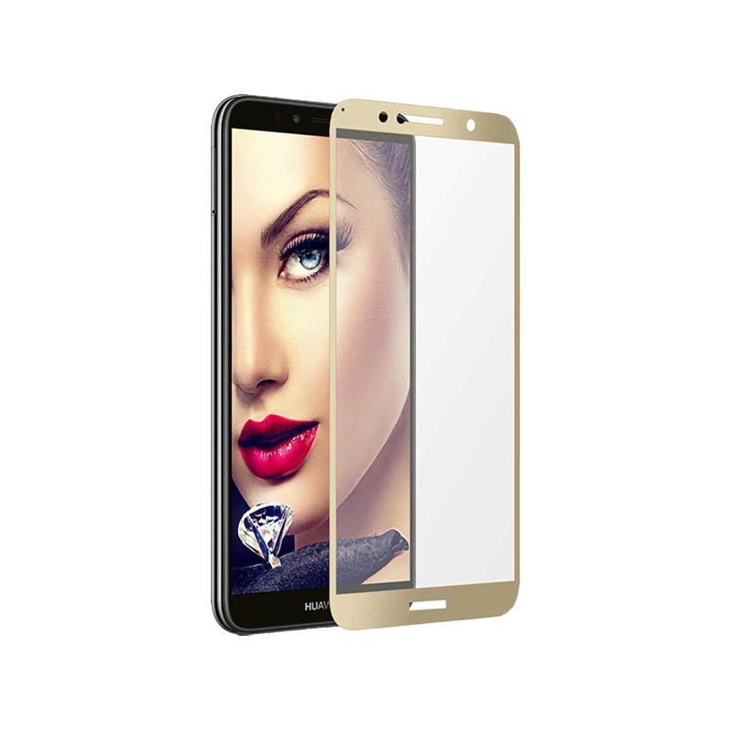 Προστασία οθόνης Full Face Tempered Glass 9H για Huawei Y6 2018 / Y6 Prime 2018 Χρυσό