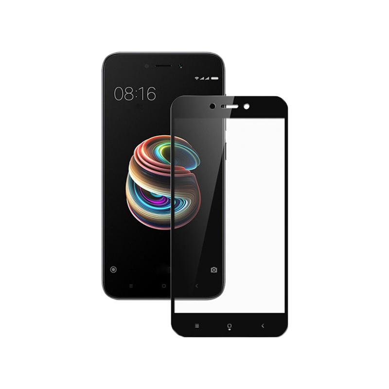 Προστασία οθόνης Full Face Tempered Glass 9H για Xiaomi Redmi 5A Μαύρο