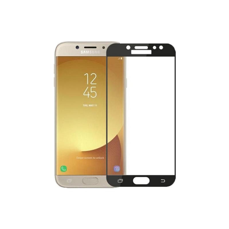 Προστασία οθόνης Full Face Tempered Glass 9H για Samsung Galaxy J3 2015 Μαύρο