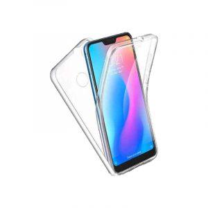 Θήκη 360 Full Cover Σιλικόνης Διάφανο Xiaomi Mi 8 Lite