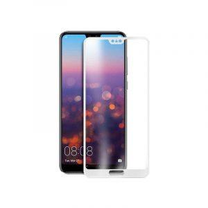 Προστασία οθόνης Full Face Tempered Glass 9H για Huawei P20 Pro Άσπρο