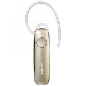 Ασύρματο Bluetooth Headset Ακουστικό Remax RB-T8 χρυσό 1