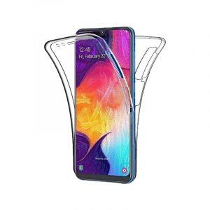 Θήκη 360 Full Cover Σιλικόνης Διάφανο Samsung Galaxy M20