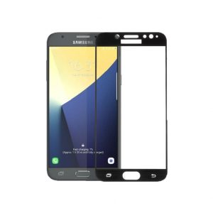 Προστασία οθόνης Full Face Tempered Glass 9H για Samsung Galaxy J7 2017 Μαύρο