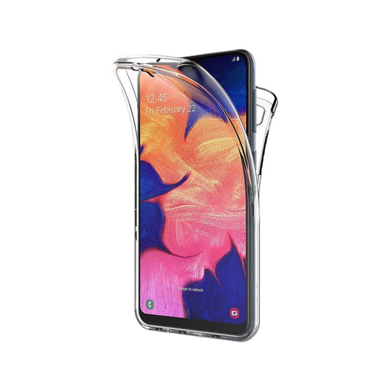 Θήκη 360 Full Cover Σιλικόνης Διάφανο Samsung Galaxy A10 / M10