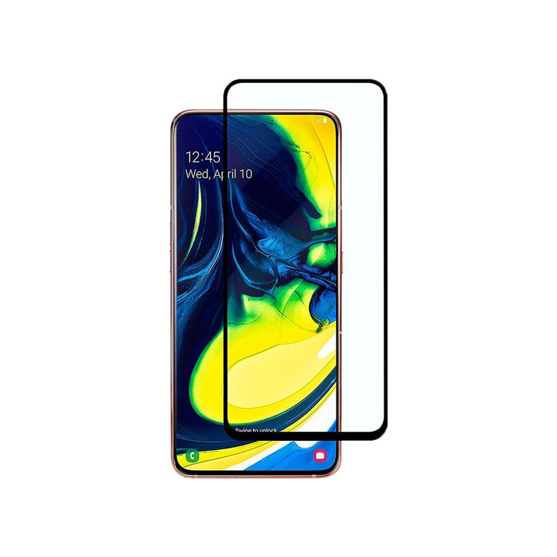 Προστασία οθόνης Full Face Tempered Glass 9H για Samsung Galaxy A80