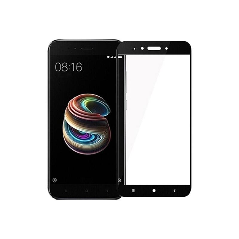 Προστασία οθόνης Full Face Tempered Glass 9H για Xiaomi Mi 5X / Mi A1 Μαύρο