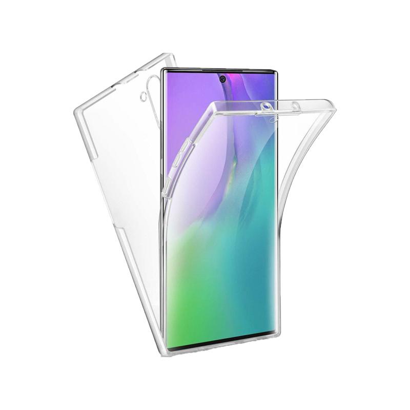 Θήκη 360 Full Cover Σιλικόνης Διάφανο Samsung Galaxy Note 10 Plus