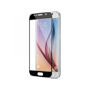 Προστασία οθόνης Full Face Tempered Glass 9H για Samsung Galaxy S6 Μαύρο
