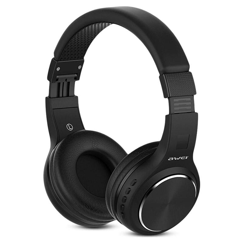 Awei Bluetooth Stereo Headphones A600BL Μαύρο