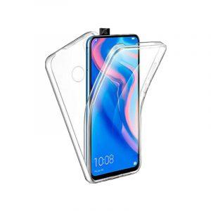 Θήκη 360 Full Cover Σιλικόνης Διάφανο Huawei P Smart Z
