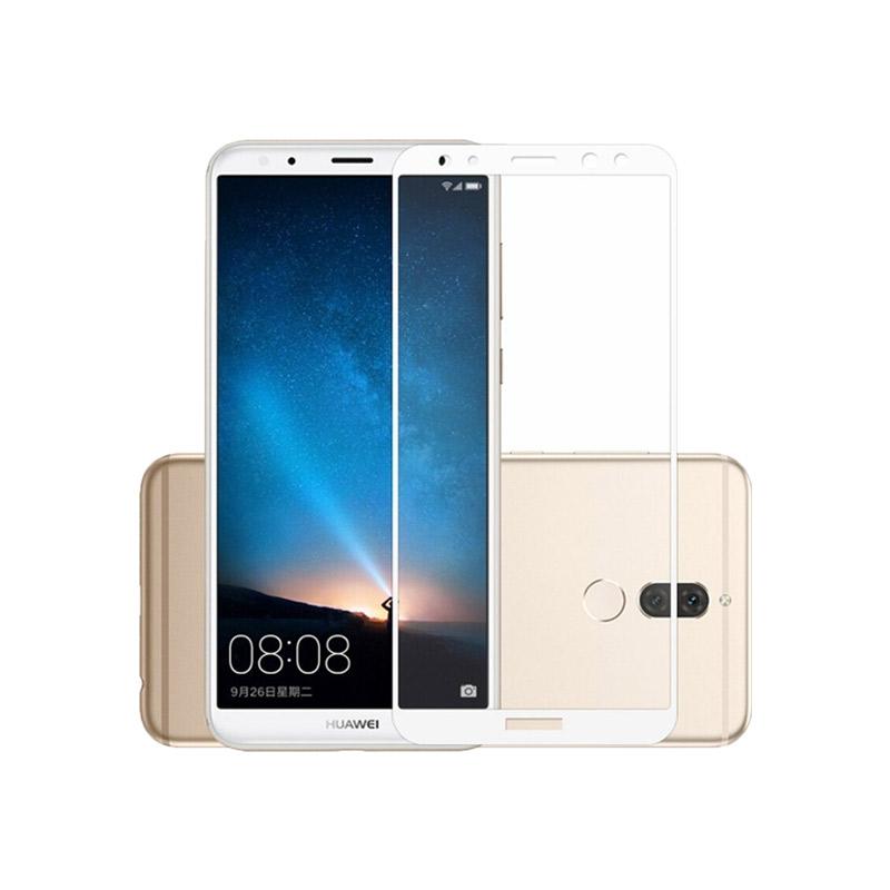 Προστασία οθόνης Full Face Tempered Glass 9H για Huawei Mate 10 Lite Άσπρο