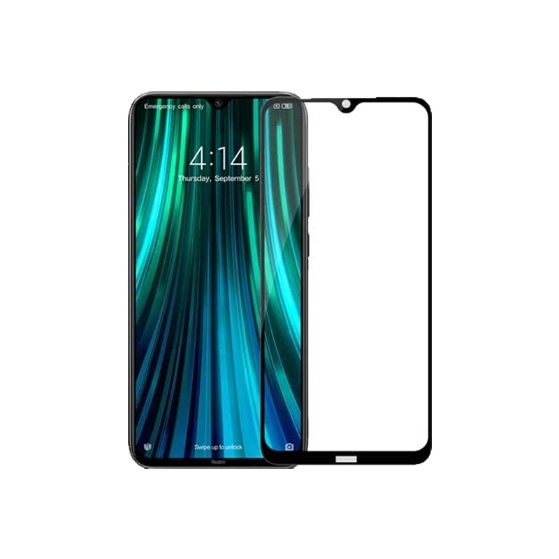Προστασία οθόνης Full Face Tempered Glass 9H για Xiaomi Redmi Note 8