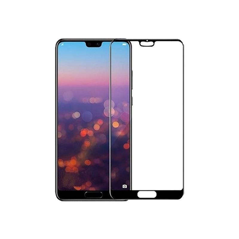 Προστασία οθόνης Full Face Tempered Glass 9H για Huawei P20 Pro Μαύρο