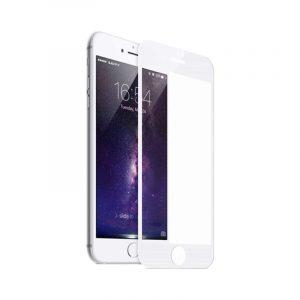 Προστασία οθόνης Full Face Tempered Glass 9H για iPhone 6s / 6s Plus Άσπρο