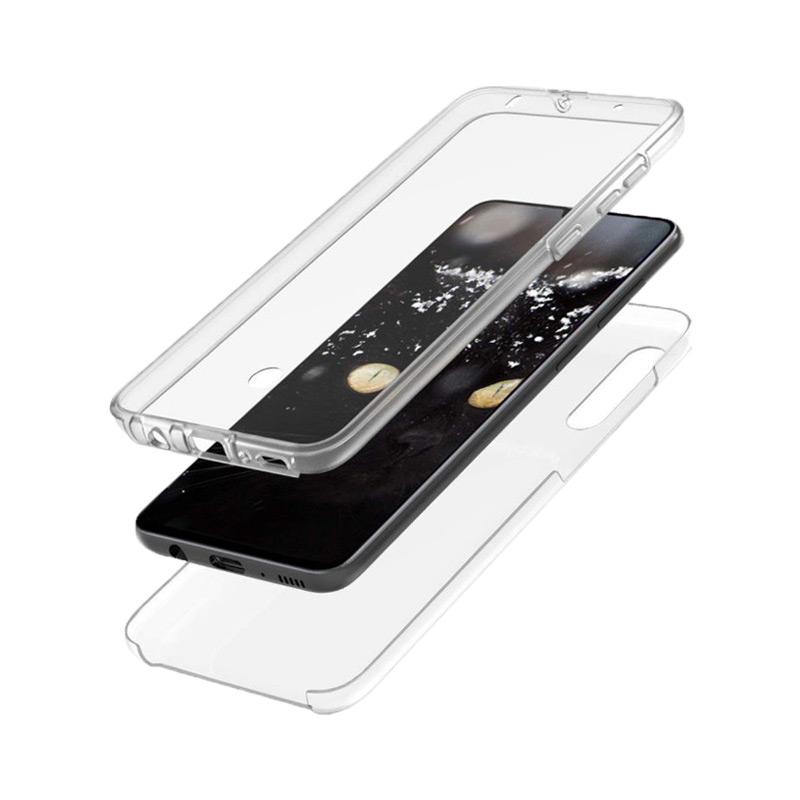 Θήκη 360 Full Cover Σιλικόνης Διάφανο Samsung Galaxy A70 / A70S 1