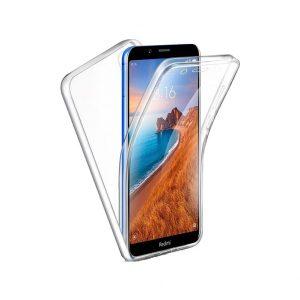 Θήκη 360 Full Cover Σιλικόνης Διάφανο Xiaomi Redmi 7A