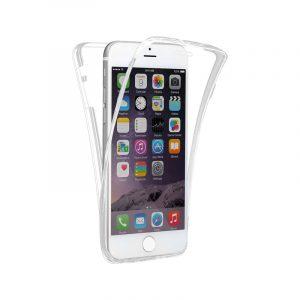 Θήκη 360 Full Cover Σιλικόνης Διάφανο iPhone 7 / 8 / SE 2020