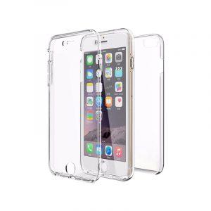 Θήκη 360 Full Cover Σιλικόνης Διάφανο iPhone 6 / 6s