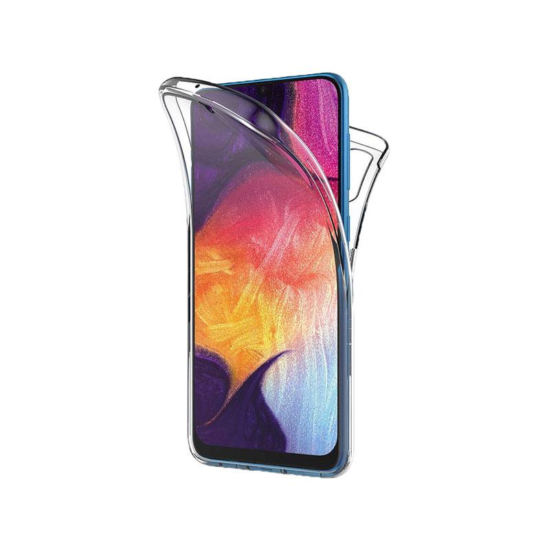 Θήκη 360 Full Cover Σιλικόνης Διάφανο Samsung Galaxy A50 / A30S / A50S