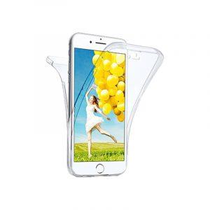 Θήκη 360 Full Cover Σιλικόνης Διάφανο iPhone 7 Plus / 8 Plus