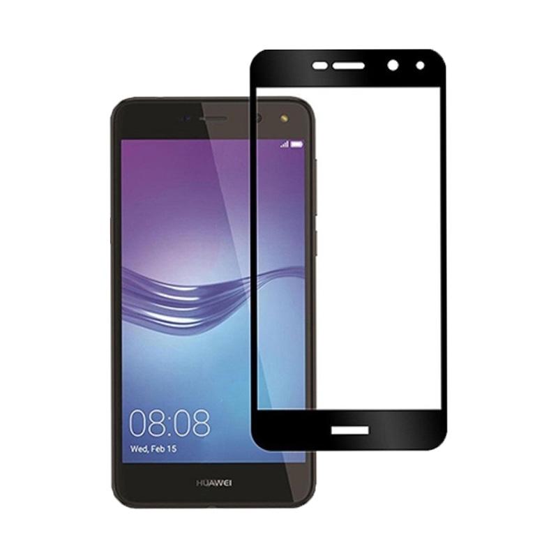 Προστασία οθόνης Full Face Tempered Glass 9H για Huawei Y5 2017 / Y6 2017 Μαύρο