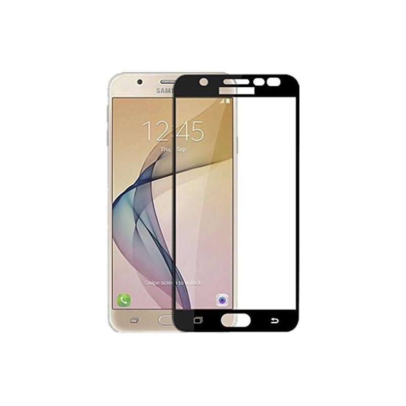 Προστασία οθόνης Full Face Tempered Glass 9H για Samsung Galaxy J7 2016 Μαύρο