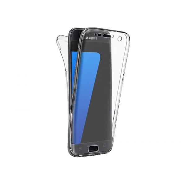 Θήκη 360 Full Cover Σιλικόνης Διάφανο Samsung Galaxy S7