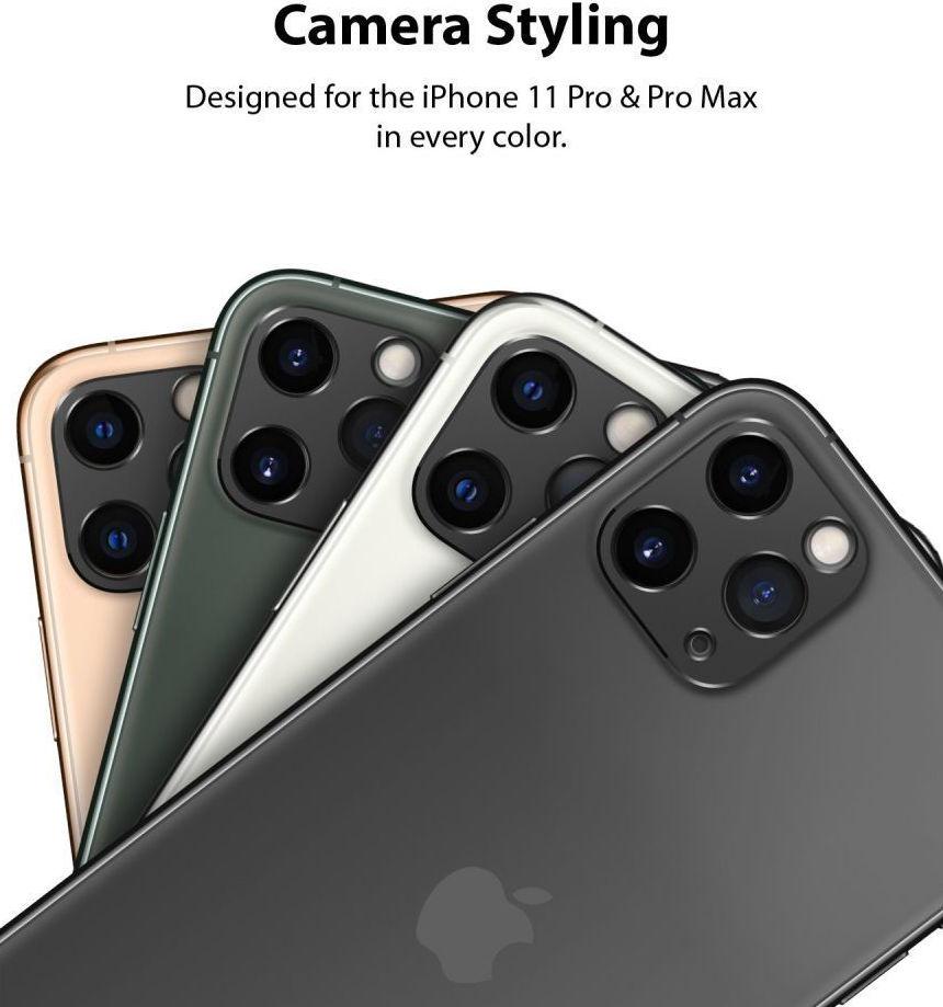 Ringke Camera Styling Bezel Μαύρο για iPhone 11 Pro 2